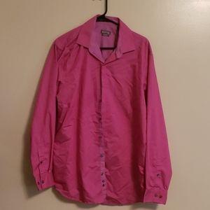 Kenneth Cole Reaction Dress Shirt Salmon sz16.5x34